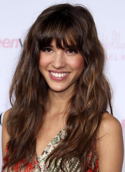 Hairstyles with Fringes Long Fringe Kudu Hair Extensions