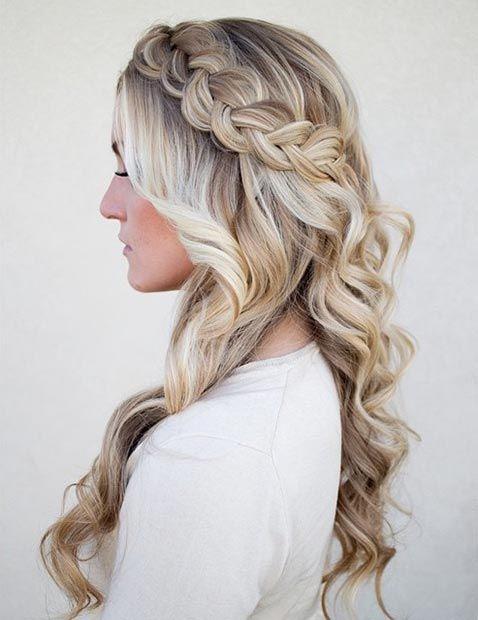 Easy Hair Ideas Low Dutch Braid