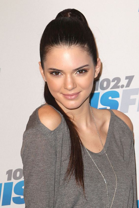 Easy Hair Ideas KENDALL JENNER at 2012 KIIS FM's Jingle Ball in Los Angeles