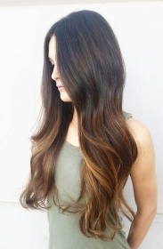 Hair Colour Ideas Dark Tips