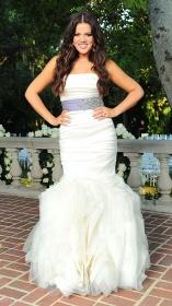 Khloe K Wedding Hair Ideas