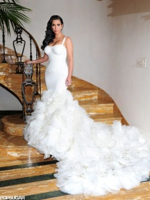 Kim K Wedding Hair Ideas