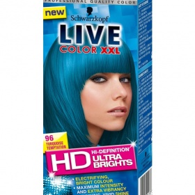 Live Colour Dye Wedding Hair Ideas